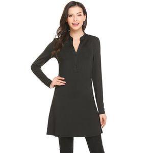 286124267f083 Robe sexy noire - Achat   Vente pas cher - Soldes  dès le 9 janvier ...