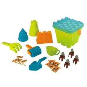 JOUET DE PLAGE Playgo Sand Castle de jeu de luxe V2O04