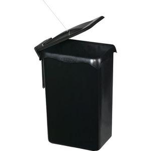 POUBELLE - CORBEILLE Poubelle de placard portasac - 23 L - noir