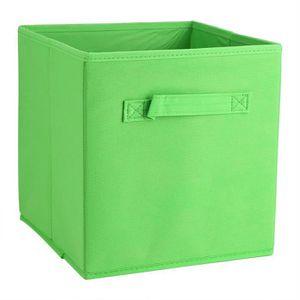 BOITE DE RANGEMENT 6Pcs Boîte de Rangement en Tissu Non-Tissé Organis