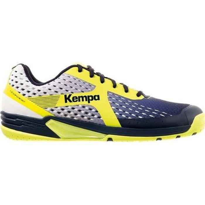 KEMPA Chaussures de handball Wing - Homme - Bleu marine
