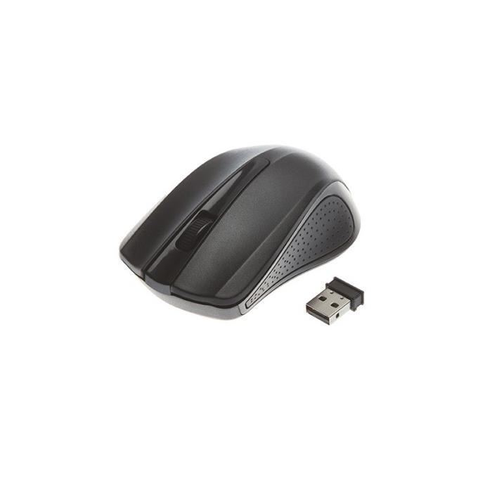 Souris optique sans fil 3 Boutons : Mobilité - Précision - Confort - Simplicité d'utilisation.SOURIS