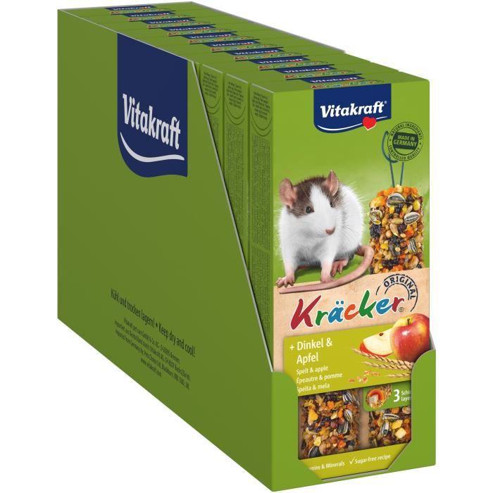 VITAKRAFT Kräcker Epeautre et pomme P/2 - Pour rongeur