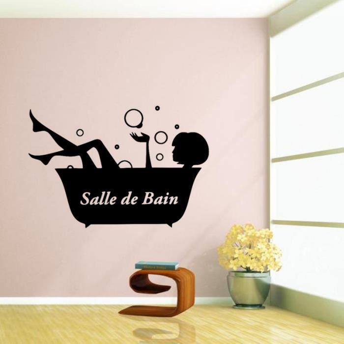 Creative Stickers Muraux Pour Salle De Bain Decoration A La Maison