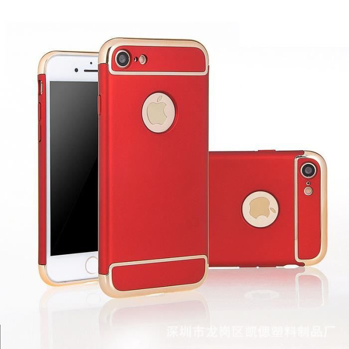 coque iphone 6 rouge complet