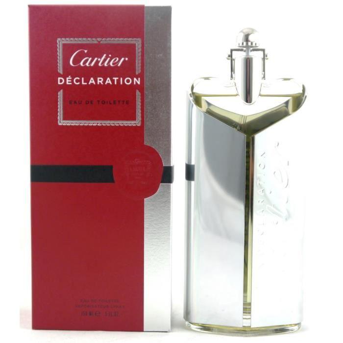 Déclaration Vente Cartier 150ml Toilette Eau Achat De QdhrCts