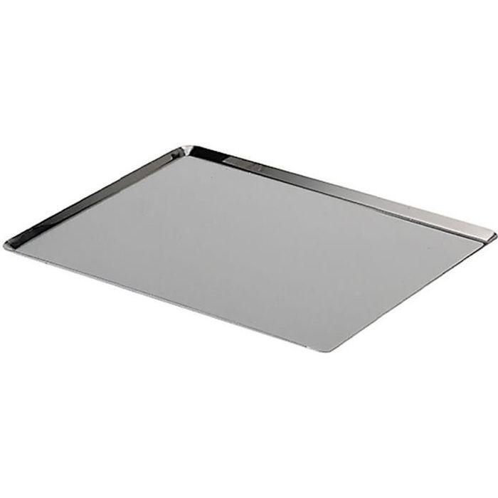 de buyer plaque rectangulaire inox l 40 x l 30 cm achat vente plaque a patisserie de. Black Bedroom Furniture Sets. Home Design Ideas