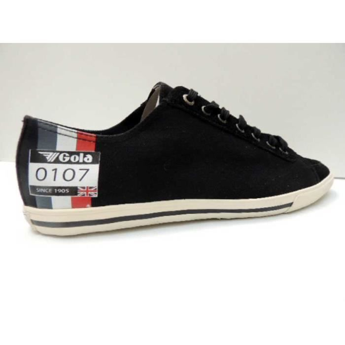 Chaussure Basse Gola medal low black white Homme Pointure 45