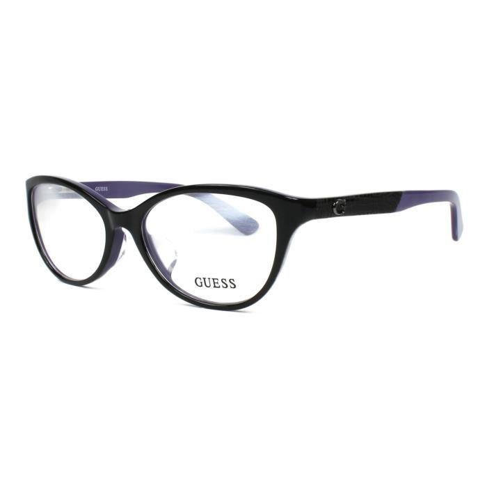 Lunettes de vue Guess GU2509-F -1 Noir brillant - Lila Noir brillant ... eacea7c55bc9