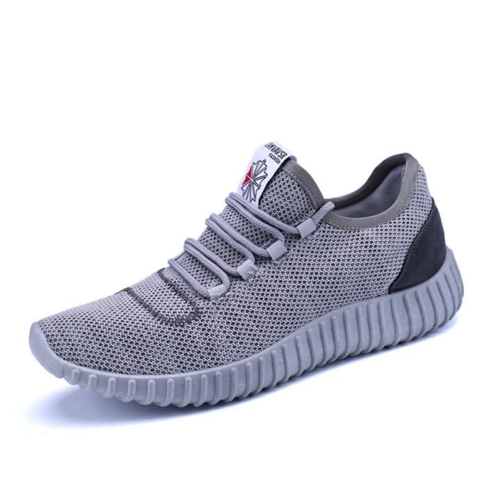 Luxe Homme Breathable Chaussure Confortable lydx252 Sneakers Taille Antidérapant De Respirant Marque Textile Grande ete 2017 wFSqSXB