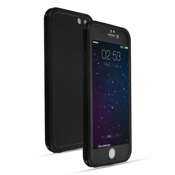 Coque Housse Etui Antichoc Etache Tpu Pr Iphone 5/6/6s/6plus/6splus/ 7/7 Plus 7 noir