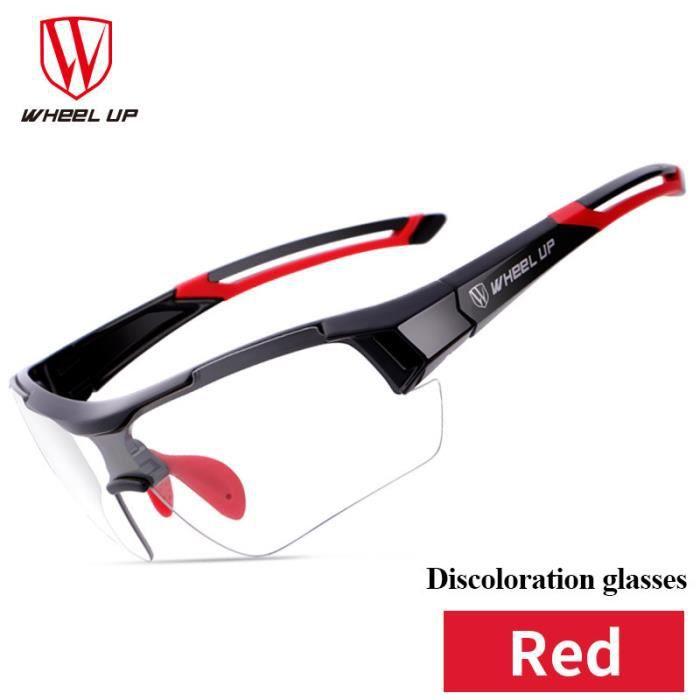 Wheel Up décoloration cyclisme lunettes de soleil route lunettes anti-UV PAC3698899