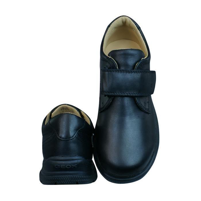 Geox J William Q Garcons Chaussures en cuir - Noir Black 1