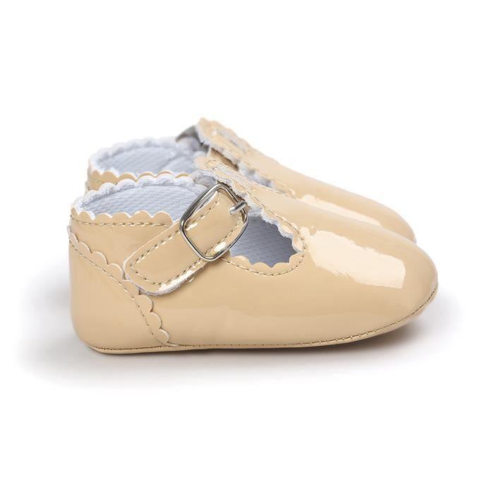 BOTTE Bébé Bowknot Princess Semelles souples Chaussures Toddler Casual Chaussures@KhakiHM KRSgMp0YVi