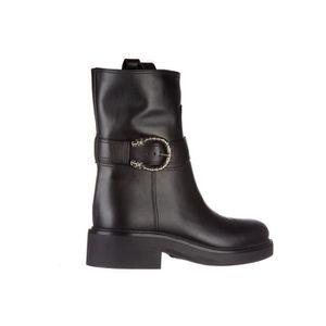 Demi bottes femme en cuir lifford Gucci t3Rw9Sir