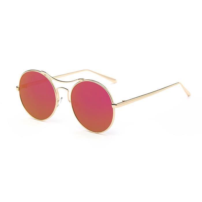 Nouvelle mode Lunettes de soleil pour femmes Vintage Retro Designer Lunettes de lunettes de soleil NO.7