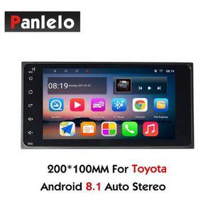AUTORADIO Stéréo de voiture Android 2 Din pour Toyota Coroll