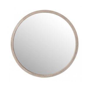 miroir rond bois achat vente pas cher. Black Bedroom Furniture Sets. Home Design Ideas