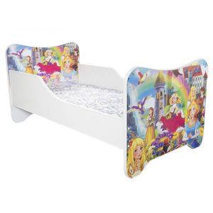 LIT COMPLET Lit Top Beds Un Monde Joyeux Princesse   80 X 160