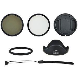 TÉLÉCOMMANDE PHOTO Kit pour Canon SX60 HS  Adaptateur Filtre UV CPL P