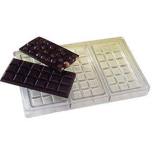 MOULE  Plaque à tablettes 3 empreintes