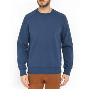 Chase Bleu Col Shirt Achat Homme Sweat Marine Rond Pour wfaXHPpxq