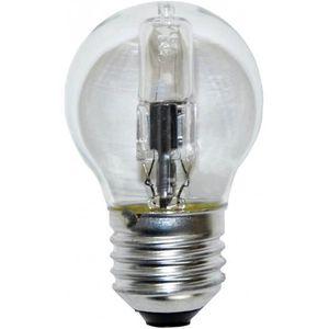 LAMPE ET SPOT DE SCÈNE Lampe E27 230V 28W sphérique claire éco halogène é