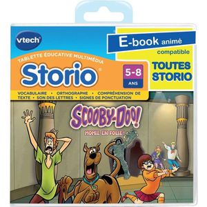 JEU CONSOLE ÉDUCATIVE Jeu Storio Scooby Doo