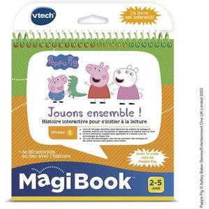 LIVRE INTERACTIF ENFANT VTECH - Livre Interactif Magibook - Peppa Pig, Jou