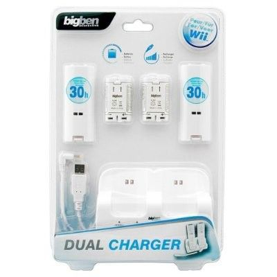 Dual charger wii big ben accessoire console nin achat - Console wii prix carrefour ...