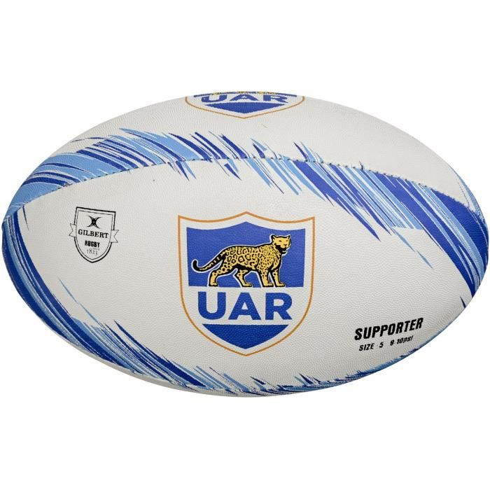 GILBERT Ballon de rugby SUPPORTER - Argentine - Taille 5