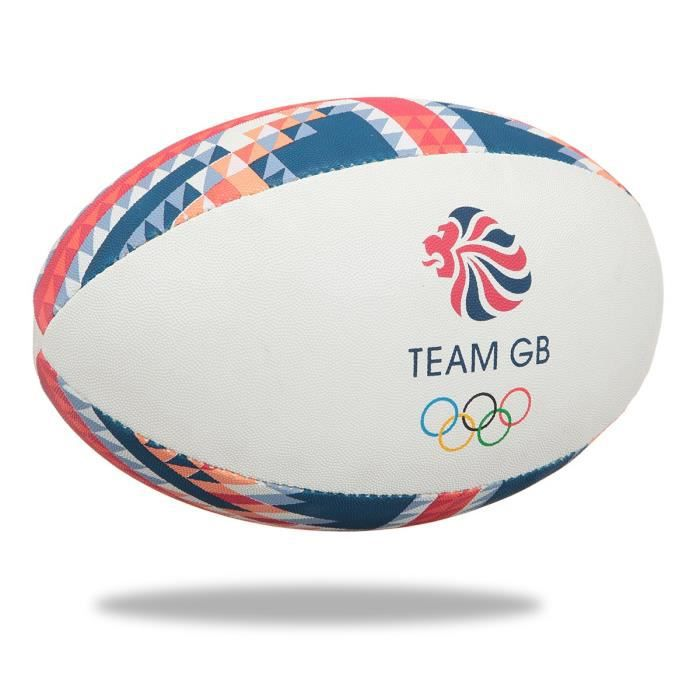 GILBERT Ballon de rugby SUPPORTER - Angleterre - Taille 5