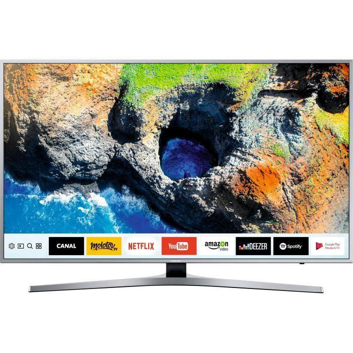 Samsung ue40mu6405 tv led uhd 100cm 40 smart tv 1500 pqi 3 x hdmi classe énergétique a