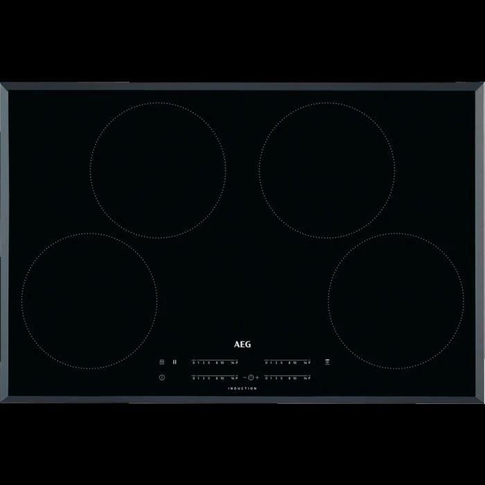 6535b80b381ecb AEG Table de cuisson à induction 78 cm, 4 zones noir - Achat   Vente ...