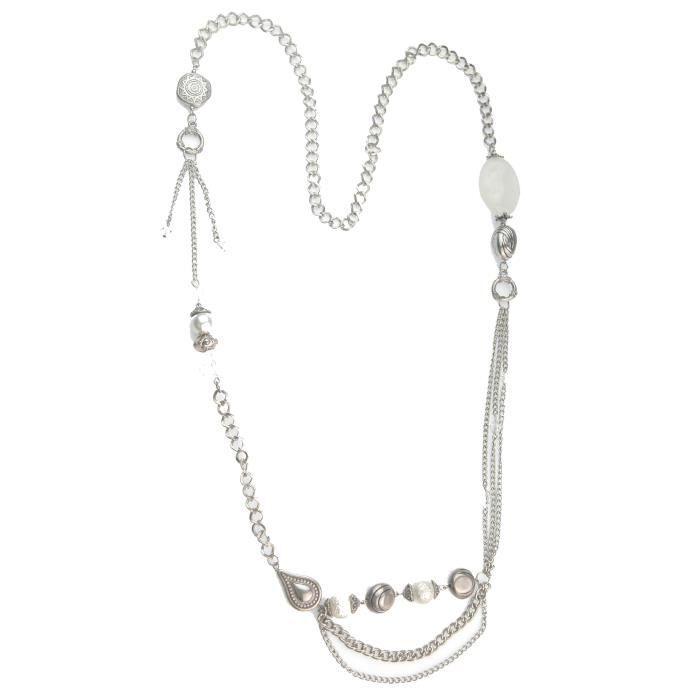 Collier Femme - 16141 - Métal - Perle Imitation Z8P0R