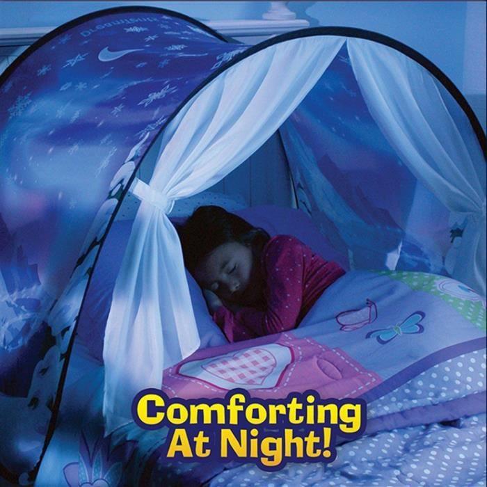 tente de lit ciel etoil et montagne bonne nuit les enfants - Tente De Lit