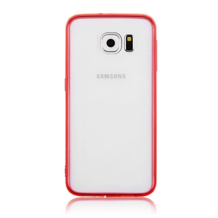 coque samsung galaxy s7 silicone rouge