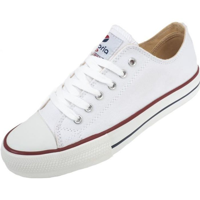 Chaussures basses toileVintage blanc basse