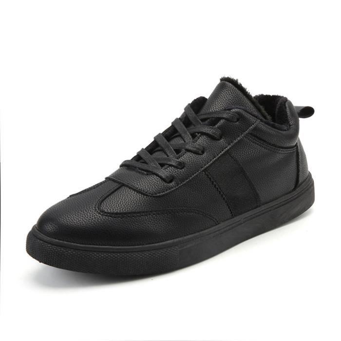 qualité Couleur Sneakers Chaussure Beau Respirant unie Hommes 39 Confortable Doux Nouvelle 44 Haut meilleur Sneaker Noir Gris Mode I0Xwx7I