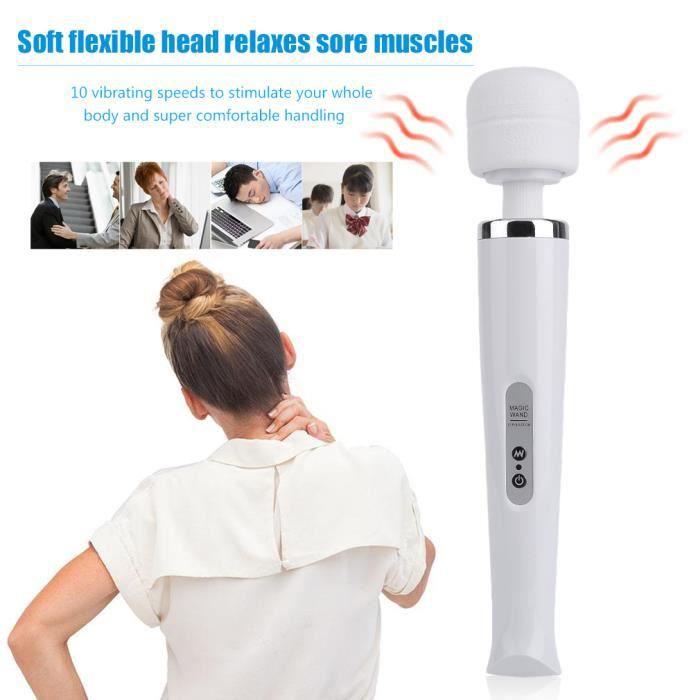 APPAREIL DE MASSAGE  Mini masseur électrique portatif de 10 vitesses po