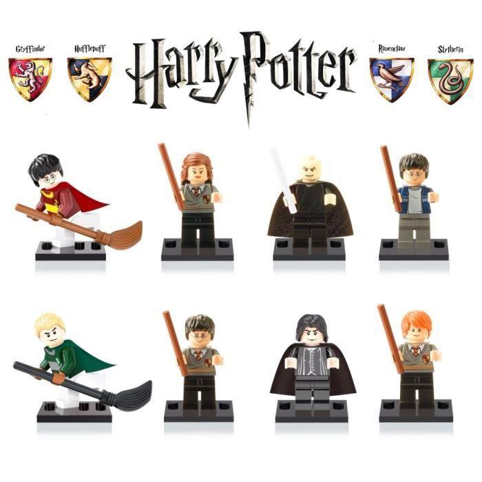 mini figurines harry potter ecole des sorciers achat vente assemblage construction cdiscount. Black Bedroom Furniture Sets. Home Design Ideas