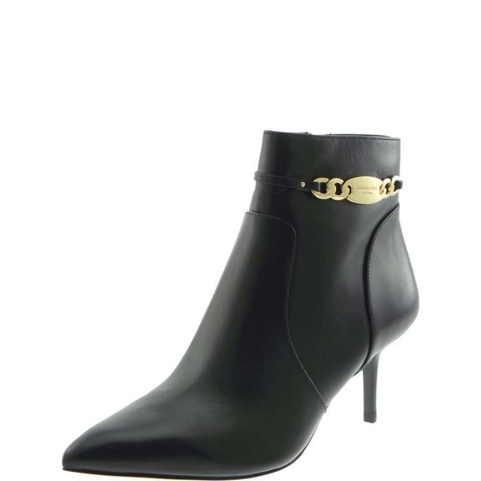 Michael Kors Ankle Boots Femme Noir