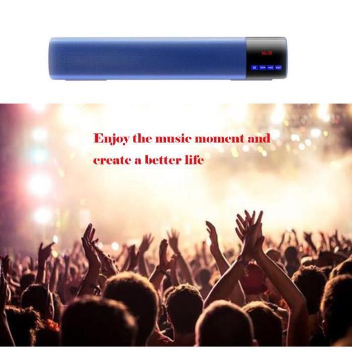 V3.0 Haut-parleur Portable Bluetooth Sans Fil Superbe Son Hd Et Basse @hot4037