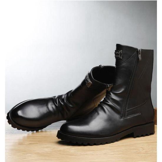 profiter du meilleur prix dernier les dernières nouveautés Bottine-boots homme avec fermeture éclair PFX-XZ3077