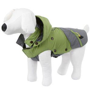 KERBL Manteau Vancouver XS 30cm pour chien - Gris et vert