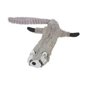 NOBBY Jouet pour chien peluche non rembourrée raton-laveur 85cm