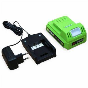 ALIMENTATION DE JARDIN VOLTR - Chargeur et Batterie 20V 1,5Ah pour outils