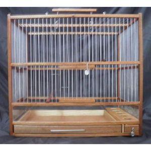 voliere a oiseaux en bois achat vente voliere a oiseaux en bois pas cher cdiscount. Black Bedroom Furniture Sets. Home Design Ideas