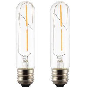 AMPOULE - LED 2X Ampoules LED E27 T30 2W Edison Filament LED Amp