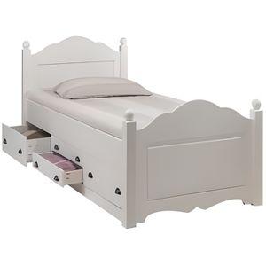 lit enfant 90×190 avec sommier et matelas pas cher
